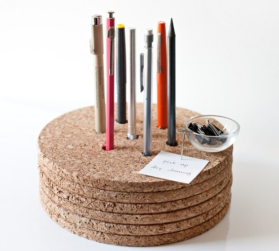 pen holder, cork, diy cork, diy home decor, diy projects, do it yourself projects, diy, diy crafts, diy craft ideas, diy home, diy decor