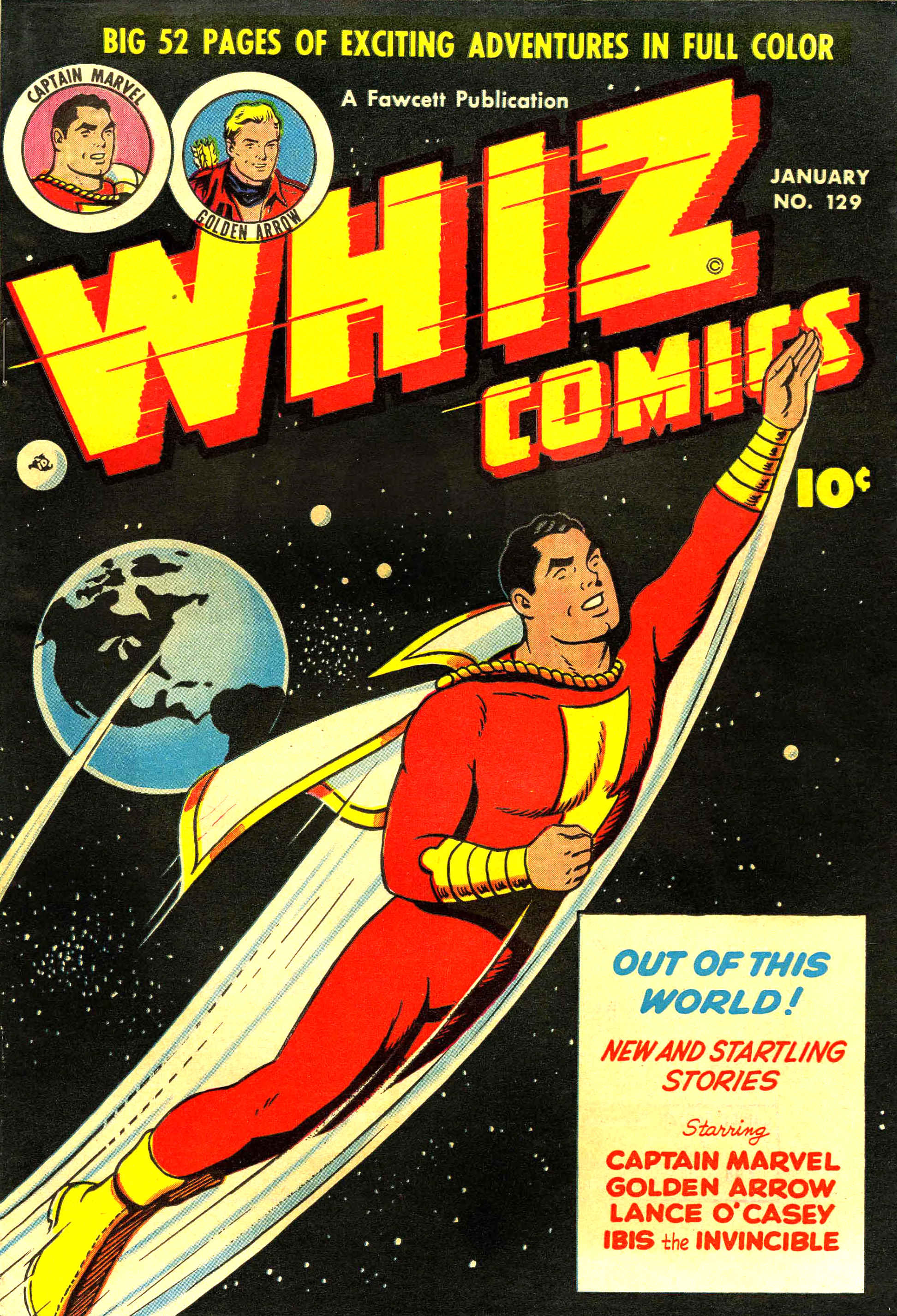 WHIZ Comics issue 129 - Page 1