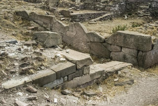 Muros del templo de Atenea Polias