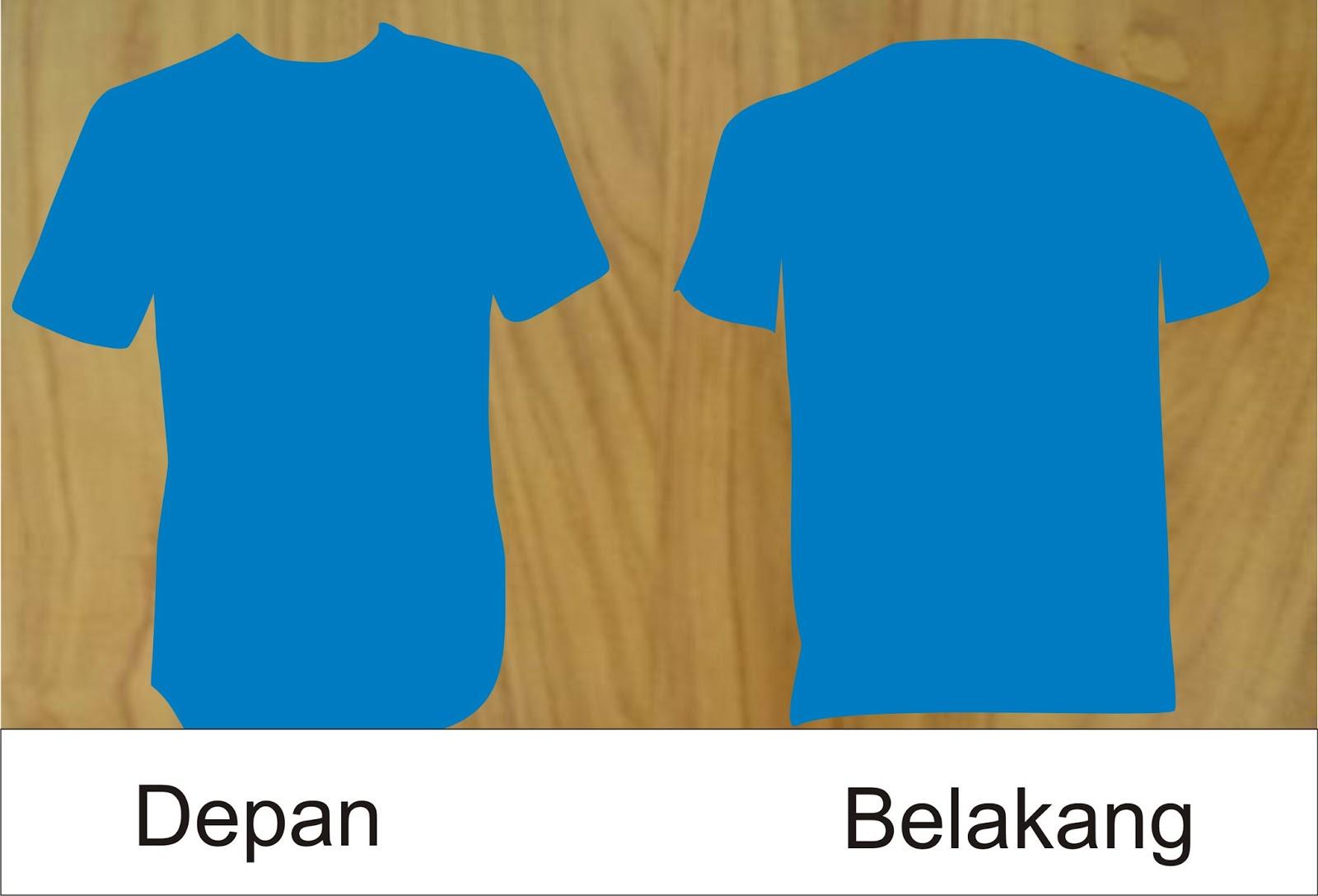 57 Inspirasi Gambar Kaos Polos Warna Biru Depan Belakang Warna Kaos