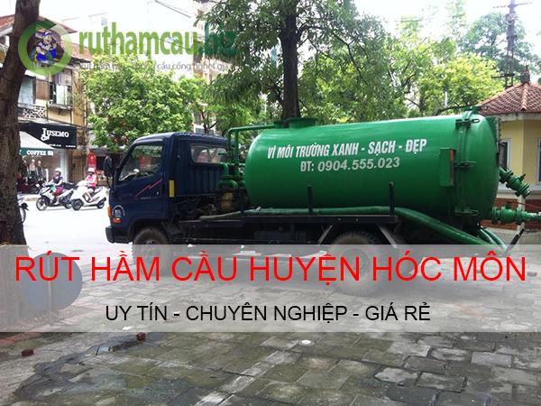 Dịch vụ rút hầm cầu tại huyện Hóc Môn giá rẻ uy tín ĐT: 0904.555.023