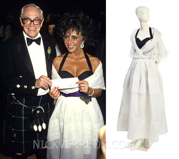 Who Wore What Elizabeth Taylor S Couture Fetches