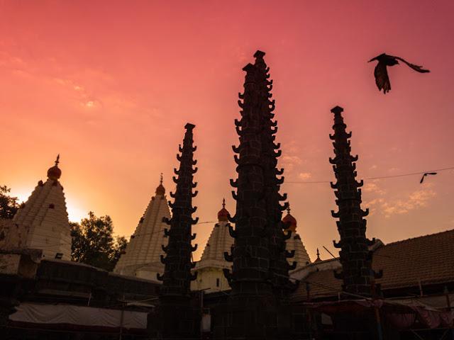 temples around pune mahalaxmi kolhapur
