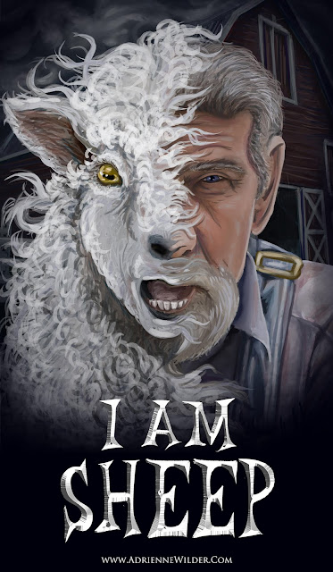 Sheep, Venom, movie poster, parody