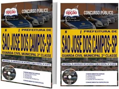 Apostila Prefeitura de São José dos Campos SP 2018