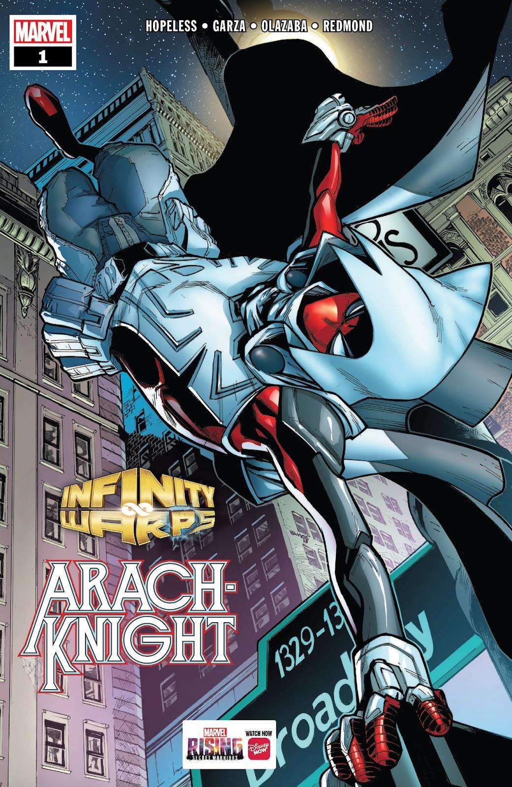 Infinity Wars: Arachknight issue 1 - Page 1