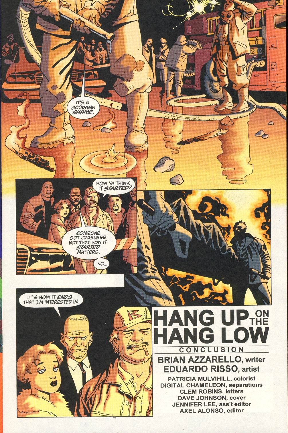 Read online 100 Bullets comic -  Issue #18 - 3