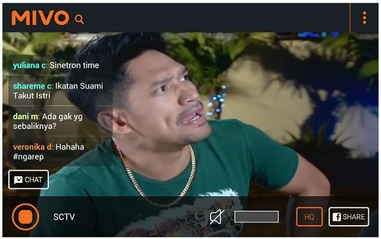 aplikasi TV streaming Android