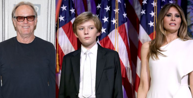 First Lady Melania Calls Secret Service After Peter Fonda Threatens to Kidnap Barron Trump