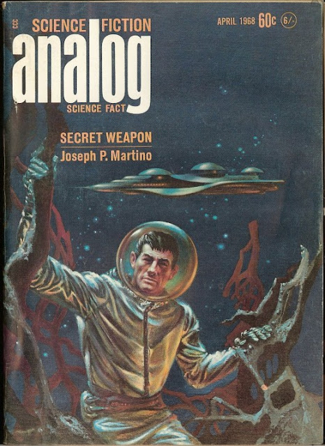 Analog Science Fiction Magazine 1960s ~ vintage everyday