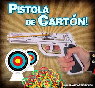 Como Hacer una Pistola de Cartón