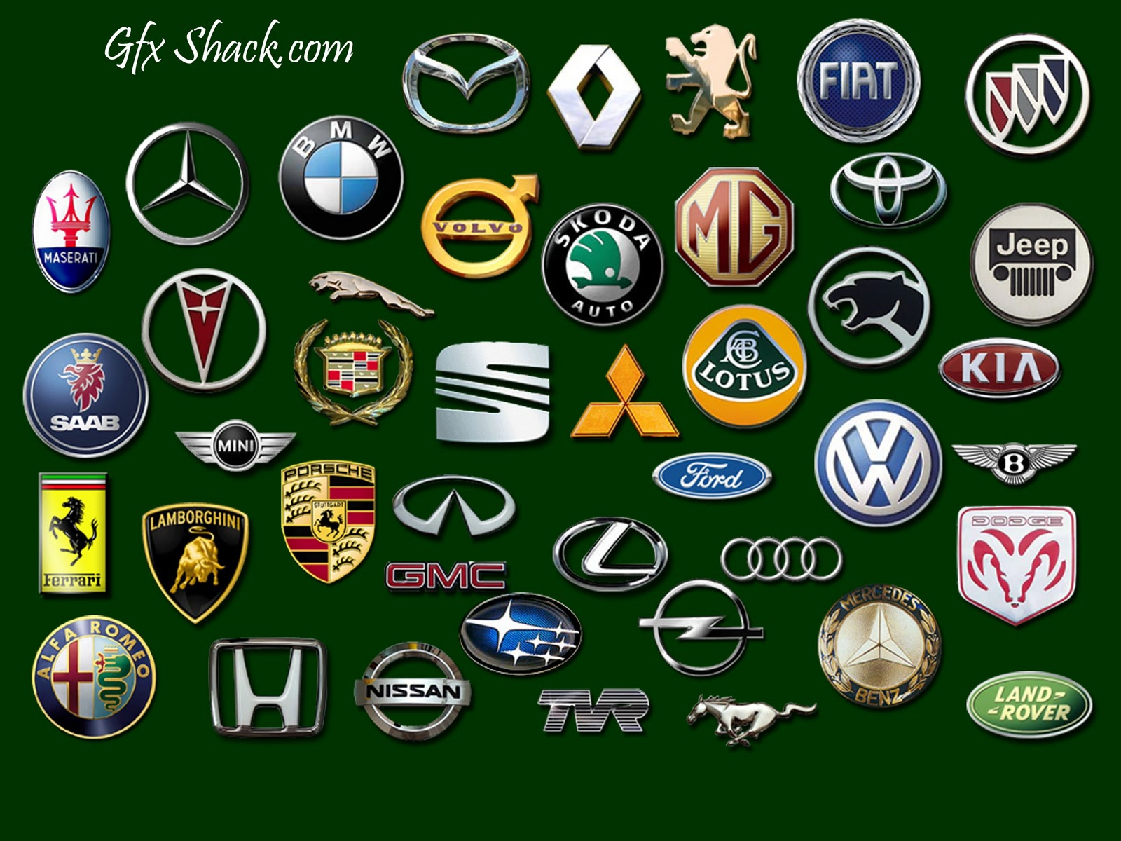 Luxury Car Logos Sports Car Wallpaper