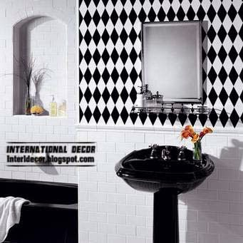 Black Tiles For Bathroom And Toilet