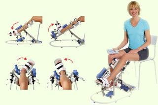 Прибор Аппарат для лечения коленных суставов в Украине (Вытяжение и укрепление коленного сустава)