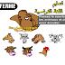 ألعاب فلاش لتعليم اللغة الفرنسية - لعبة أسماء الحيوانات والحشرات بالفرنسية