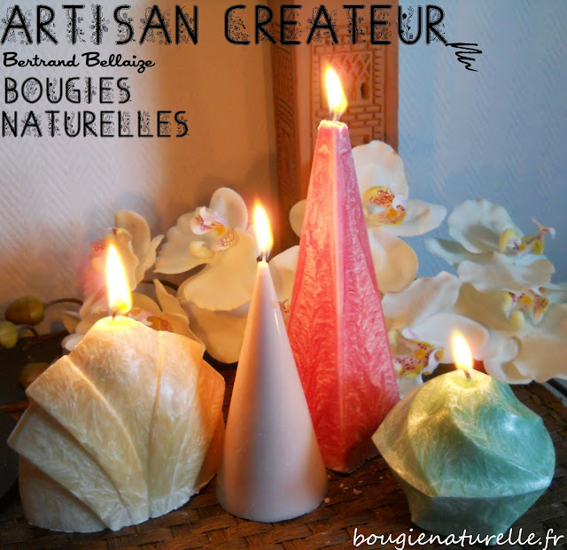 mahera bougies naturelles de l 39 artisan bertrand bellaize. Black Bedroom Furniture Sets. Home Design Ideas