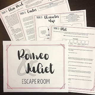 Using Puzzles and Games in ELA helps engage students, foster critical thinking, and build collaboration. At the Secondary English Coffee Shop blog, we talk word games, team trivia, and escape rooms in the secondary classroom. (blog)