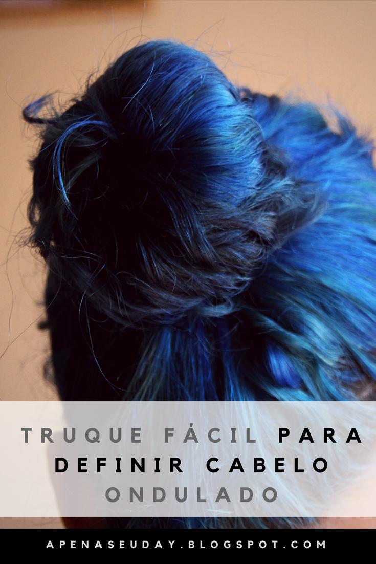Aprenda com este truque a definir cabelo ondulado de um jeito simples e prático. Acesse agora!