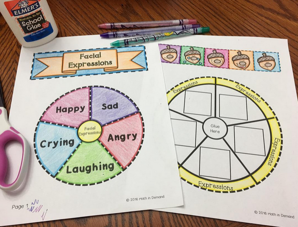 Kindergarten Wheel Foldables