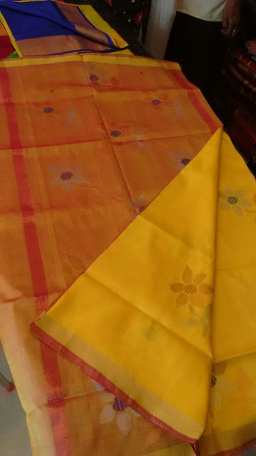 Uppada Jamdhani Silk sarees,