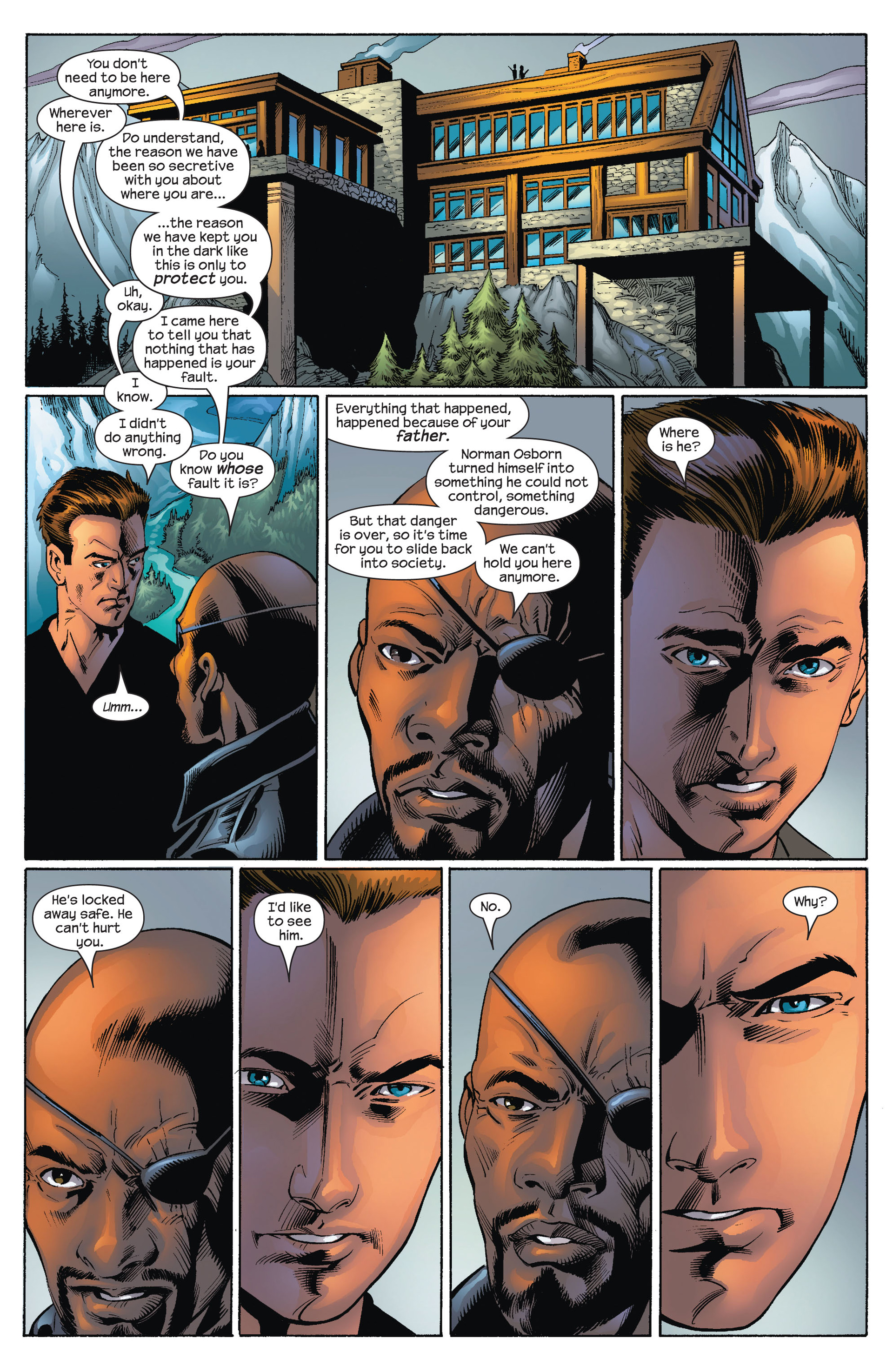 Read online Ultimate Spider-Man (2000) comic -  Issue #73 - 6