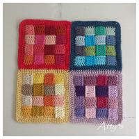 Braided /Woven Crochet Block