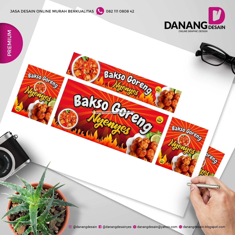 Contoh Desain Banner Bakso Goreng - Contoh Desain Banner ...