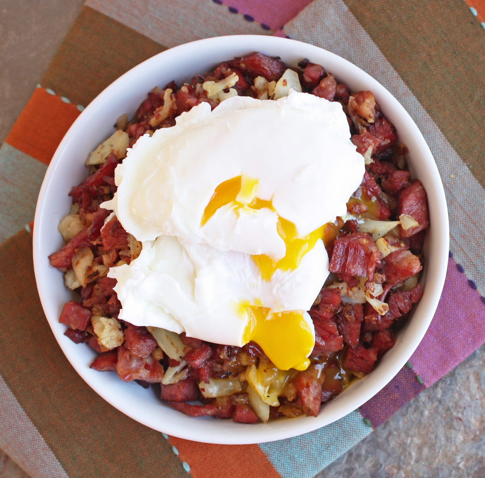 Corned Beef And Cauliflower Hash Low Carb And Gluten Free