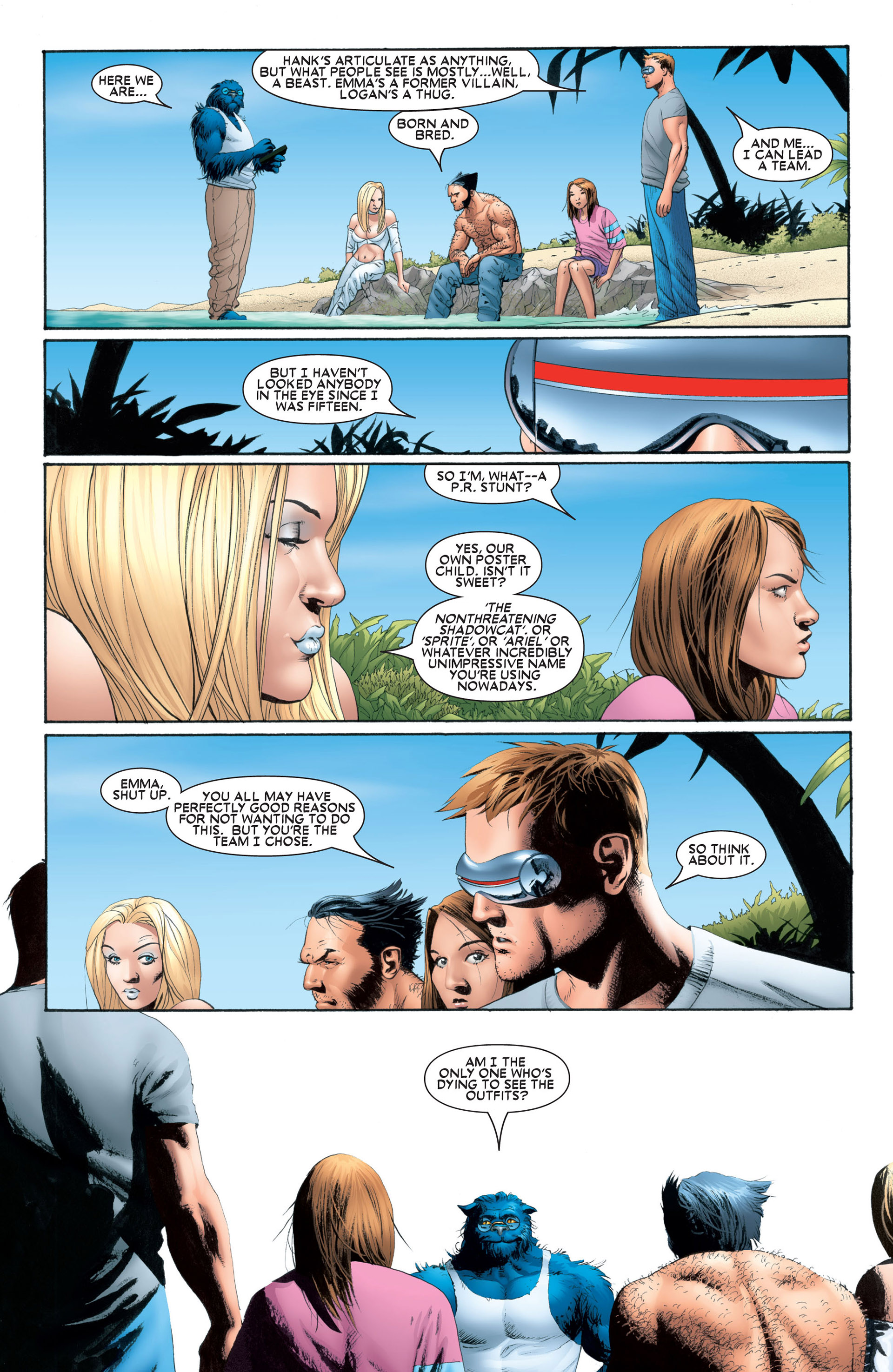 Astonishing X-Men (2004) issue 1 - Page 17