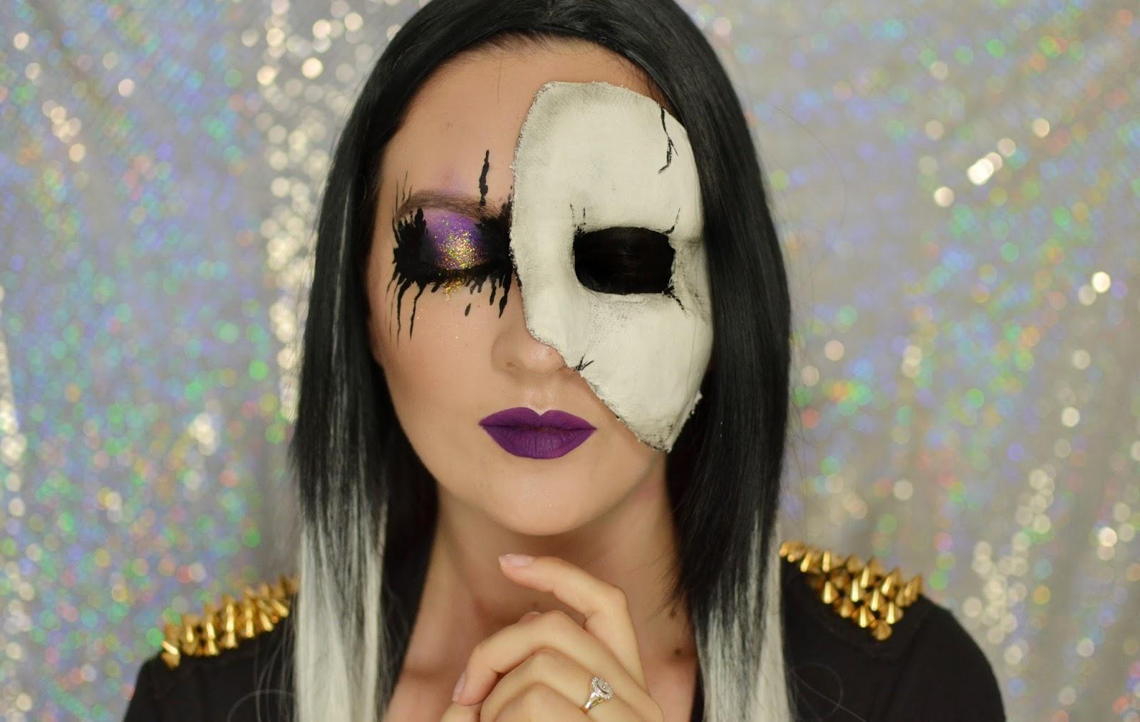 makijaż tutorial halloween