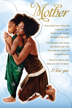 African American happy mothers day images cards with quotes