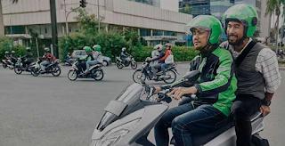 12 Tempat Ramai Order Penumpang Ojek Online Gojek-Grab di Surabaya