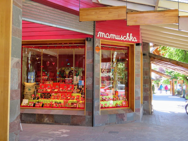 Mamuschka Chocolate store in Villa La Angostura along the Ruta de Siete Lagos near Bariloche