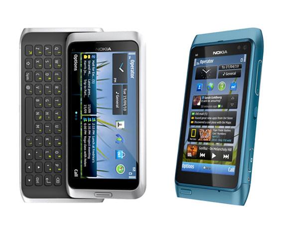 Ncall: Nokia N8 vs E7