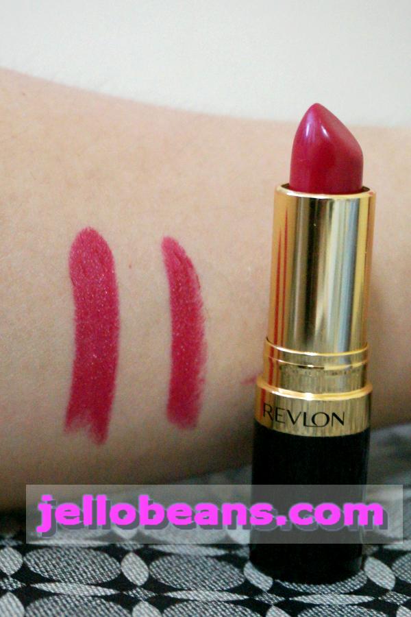 Super Lustrous The Luscious Mattes Lipstick by Revlon #22