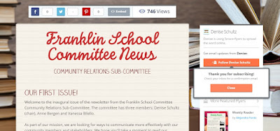 subscribe to the Franklin School Committee Newsletter