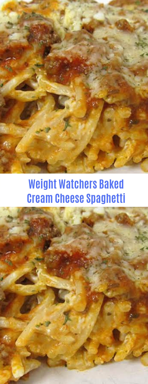 Weight Watchers Baked Cream Cheese Spaghetti