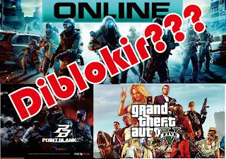 Ilustrasi Game Online Berbahaya Diblokir Pemerintah