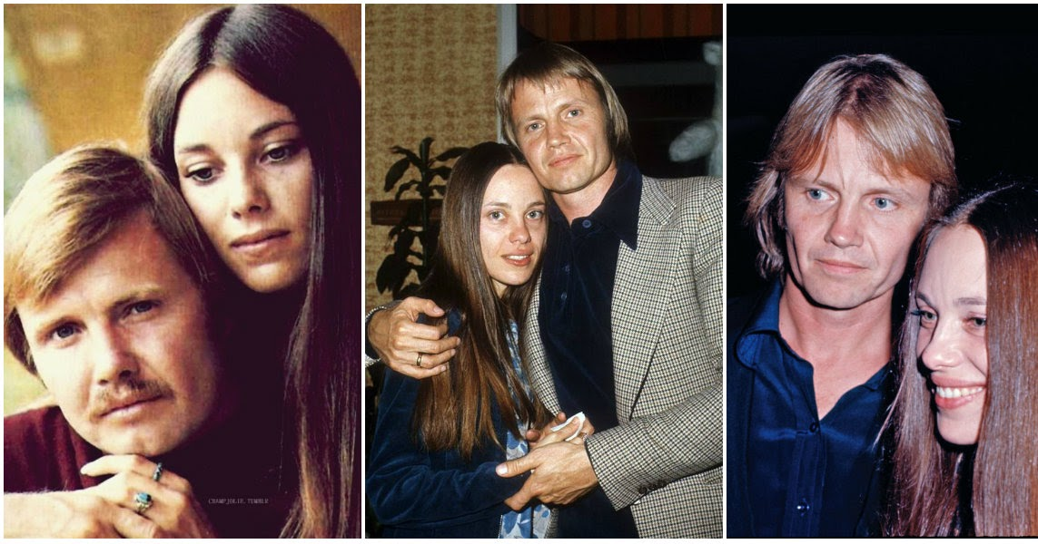 20 Vintage Photographs of Jon Voight and Marcheline Bertrand (Angelina Jolie's Parents) in the 1970s ~ vintage everyday