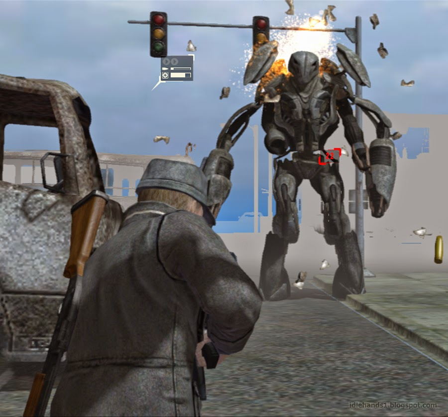 Idle Hands First Gameplay Details For Falling Skies The Game