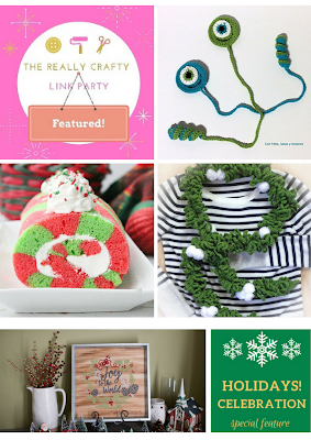 http://keepingitrreal.blogspot.com.es/2017/12/the-really-crafty-link-party-98-featured-posts.html