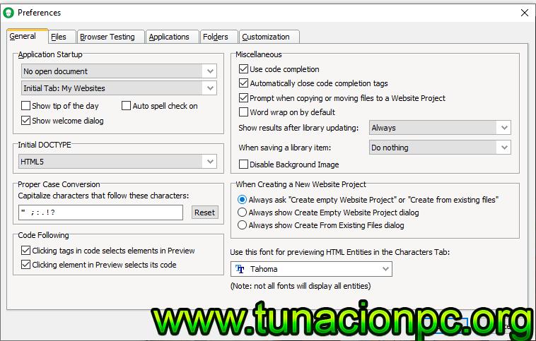 Descargar CoffeeCup HTML Editor Full