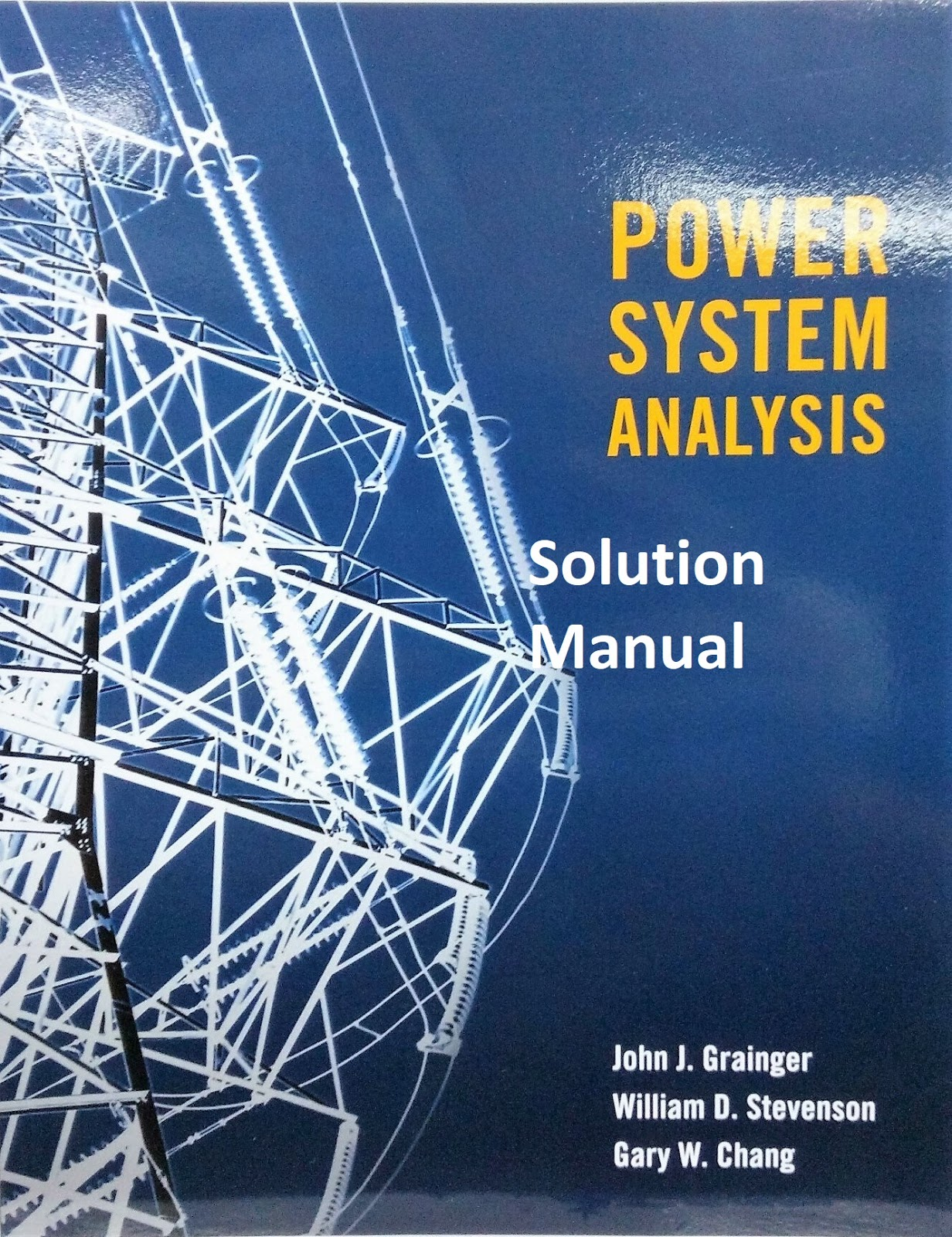 Power Systems Analysis Solutions Manual Arthur