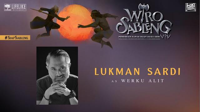 Lukman Sardi sebagai Werku Alit/ Sumber foto @LifeLikePictrs