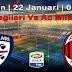 Agen Bola Terpercaya - Prediksi Cagliari vs AC Milan 22 Januari 2018
