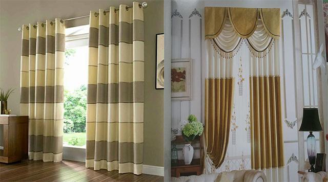 Rèm vải chống nắng, cách nhiệt cho ngôi nhà