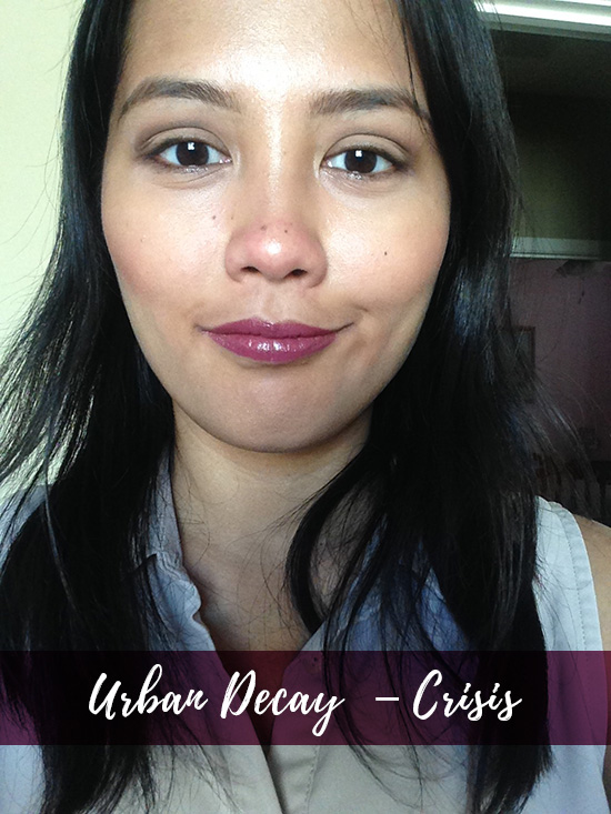 Urban Decay Vice Lipsticks Crisis