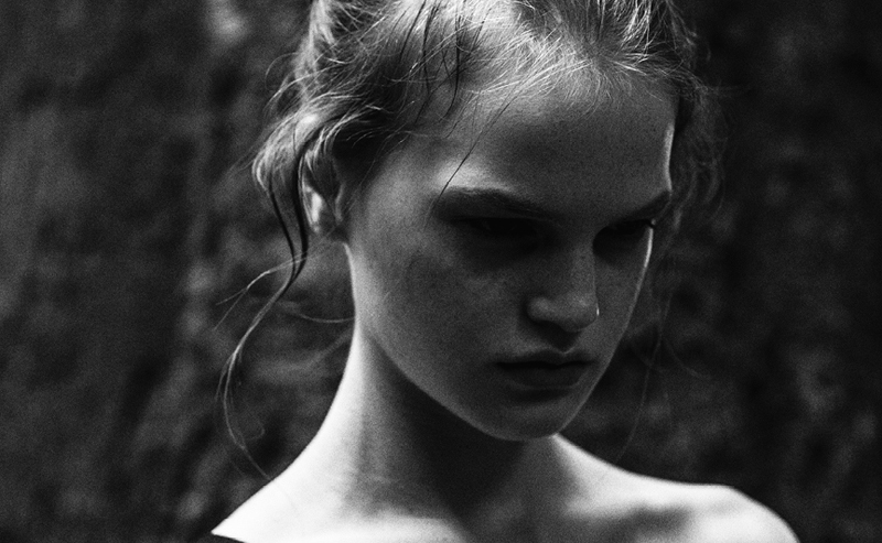 the forest: annika-marie, aline, jada, helene by iga drobisz for dahse autumn/winter 2014