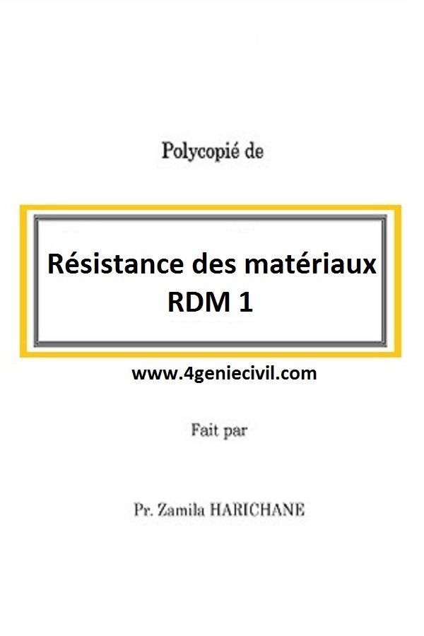 .PDF TÉLÉCHARGER COURS ET EXERCICES DES RÉSISTANCE MATÉRIAUX CORRIGES