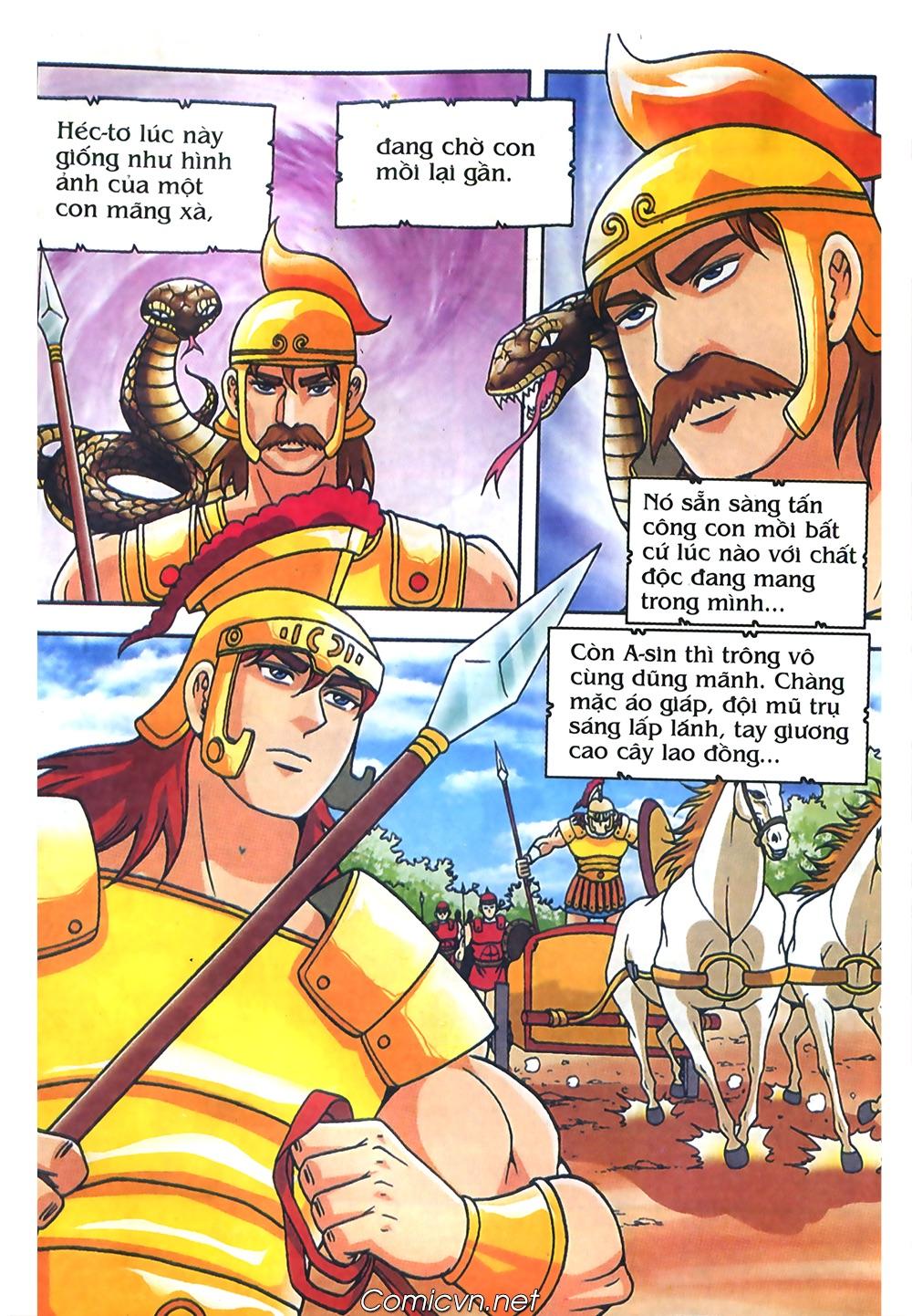 Thần Thoại Hy Lạp Màu - Chapter 61: So tài của hai vị tướng - Pic 17